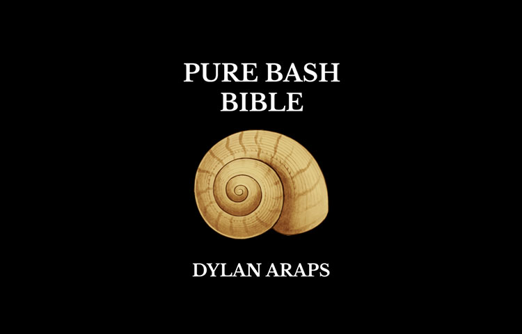 Pure Bash Bible