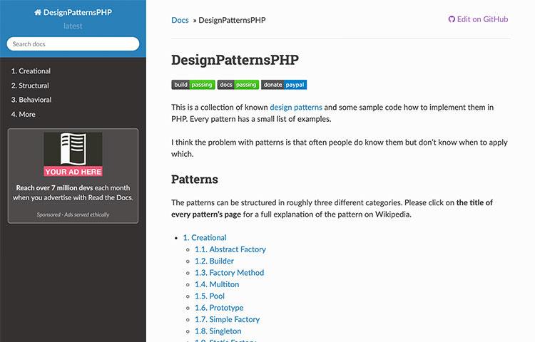 Design Patterns PHP
