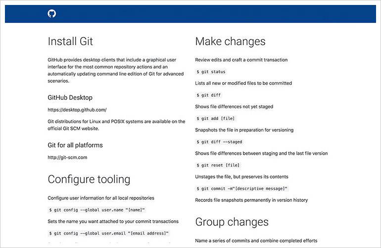 git training kit