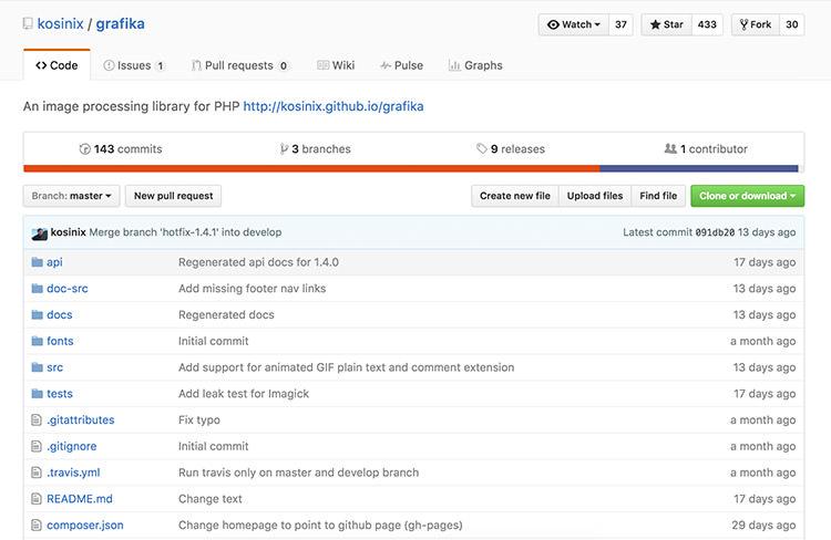 Grafika Github repository