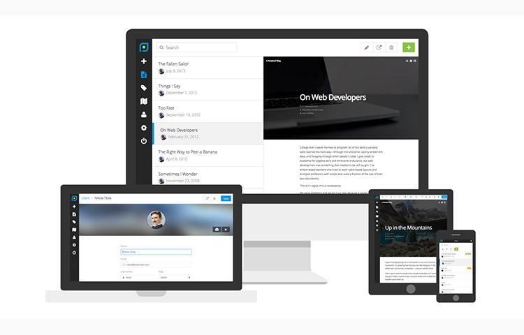 Postleaf responsivity in multiple screensize