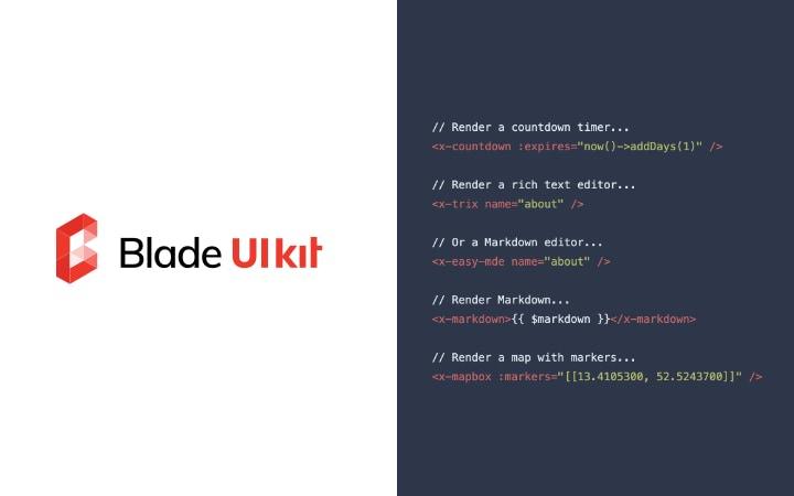 Blade UI Kit