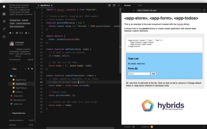 Hybrid.js