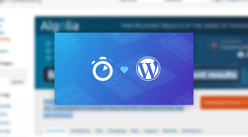 WordPress and Agolio logo