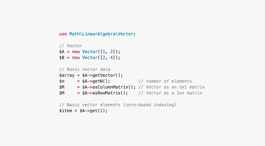 Math php code snippet