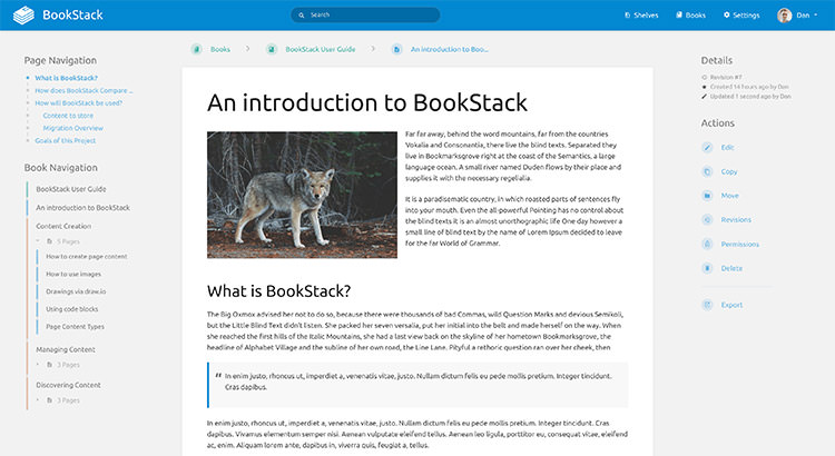 BookStackApp