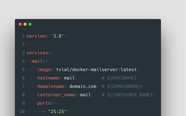 Docker Mailserver