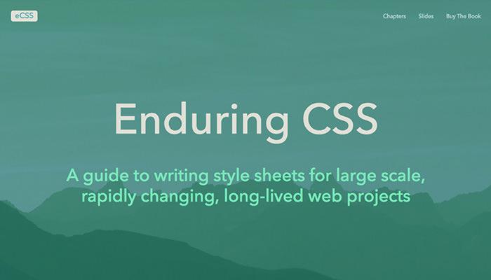 Enduring CSS Homepage