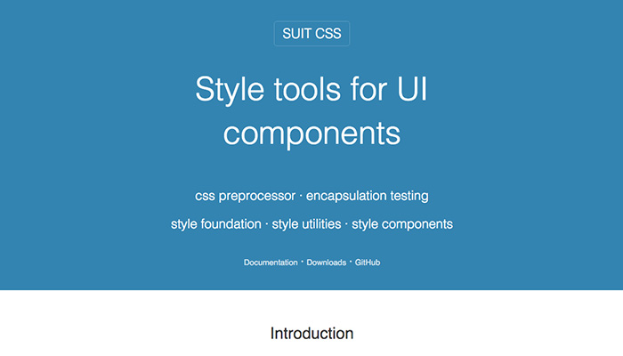 SuitCSS App Interface