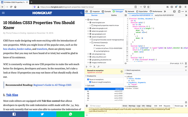 VSCode Firefox Debug