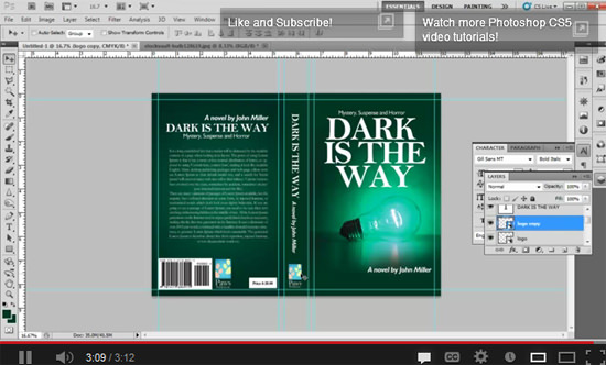 Book Cover Design Tutorials