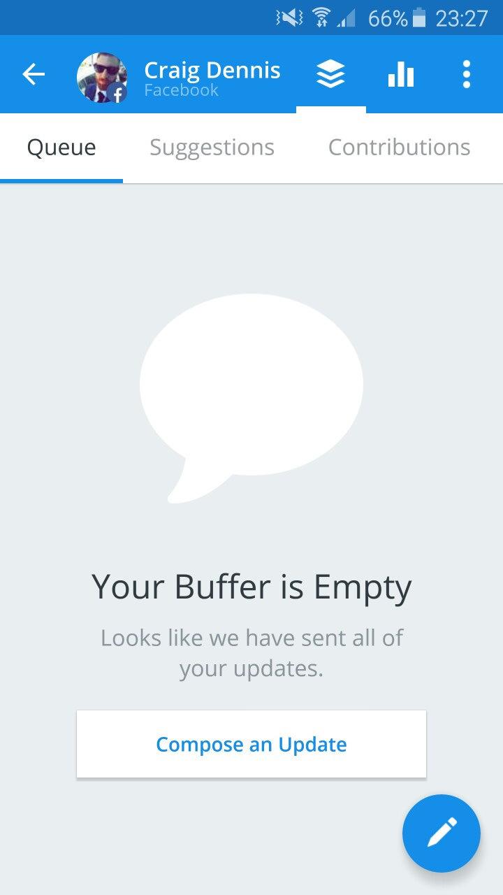 buffer empty app