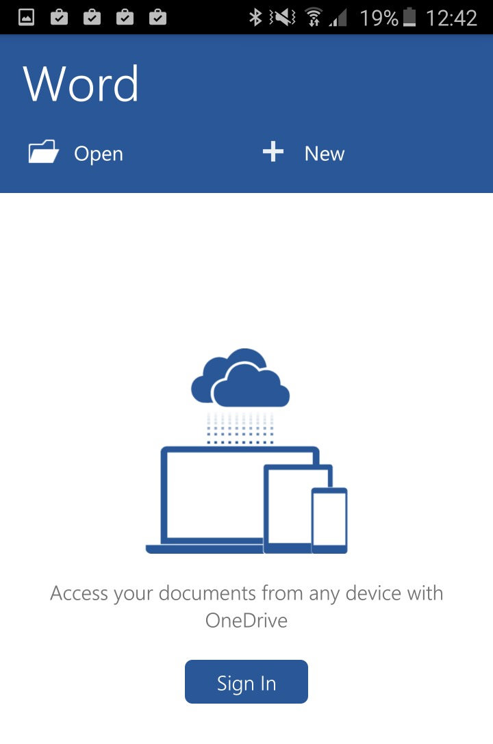 microsoft word app documents