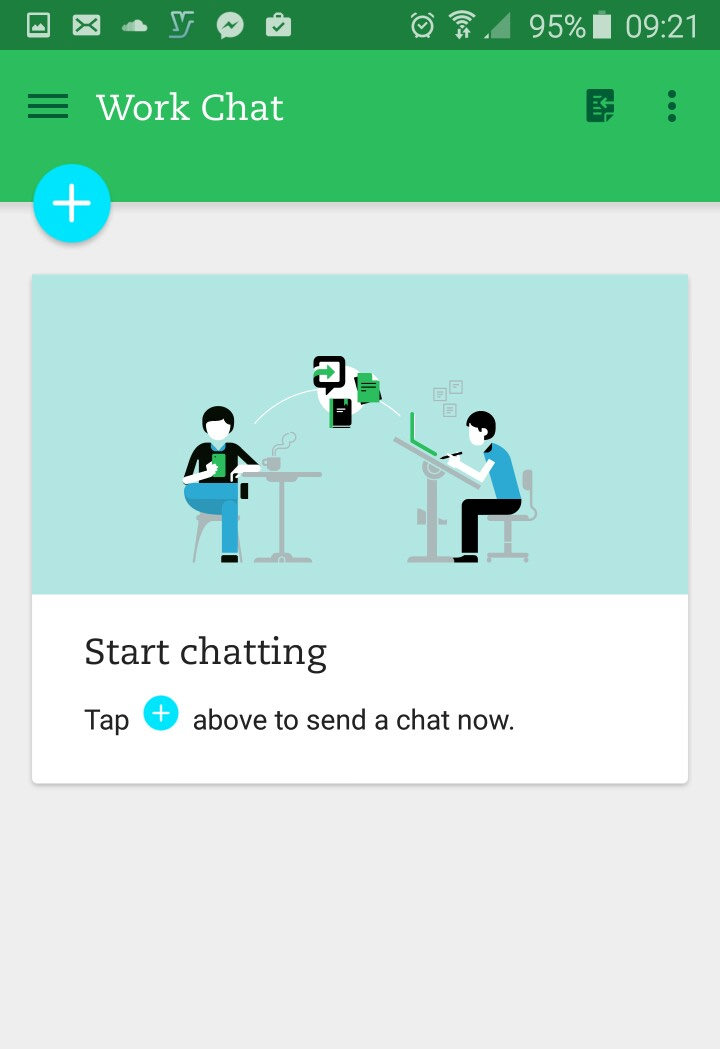 evernote chats android