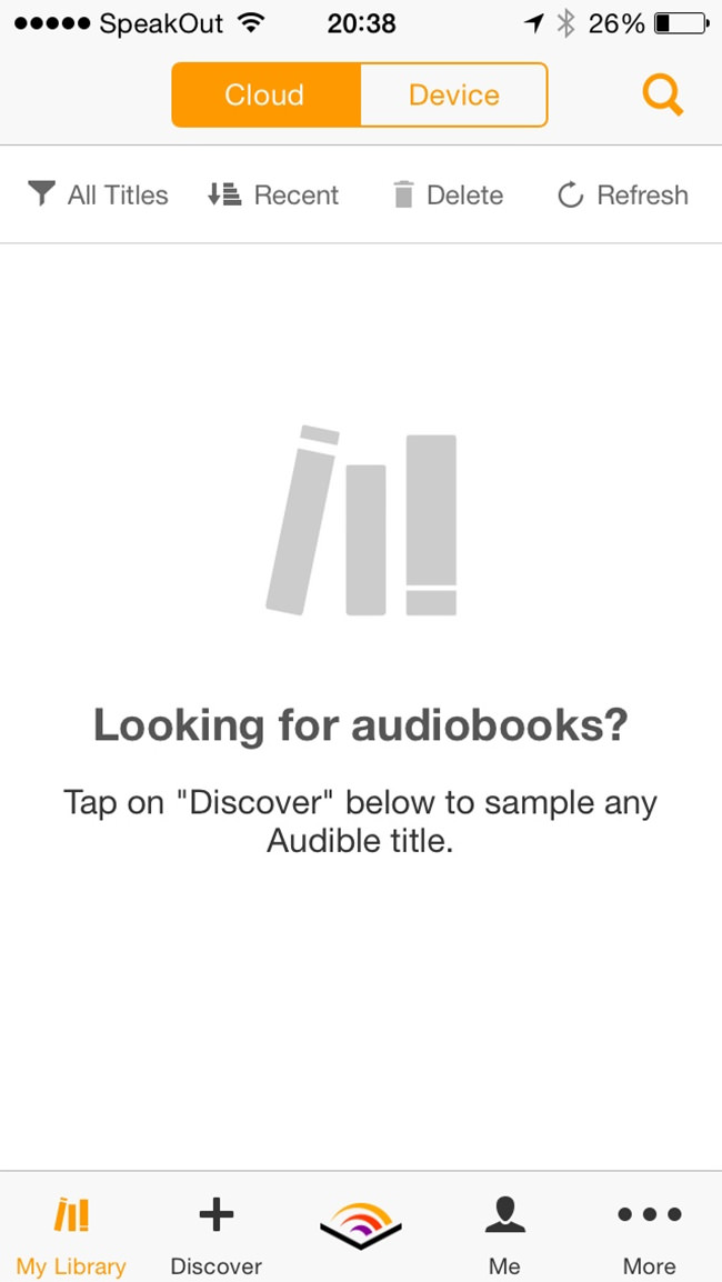 audio books list