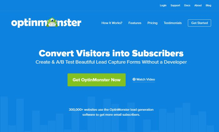 OptinMonster Home Page