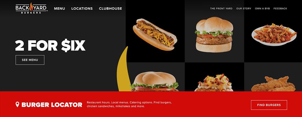طراحی وبسایت رستورانی - کدفرند
