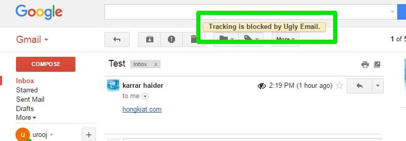 tracking blocked