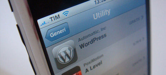 Mobile WordPress for iPhone