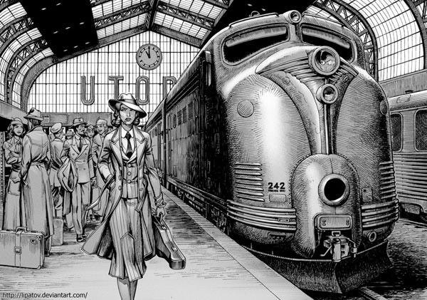 Arrival in Utopia by Lipatov