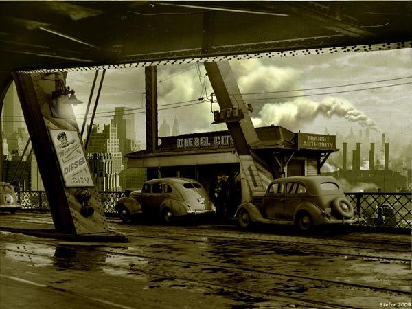 Diesel City3 by Stefanparis