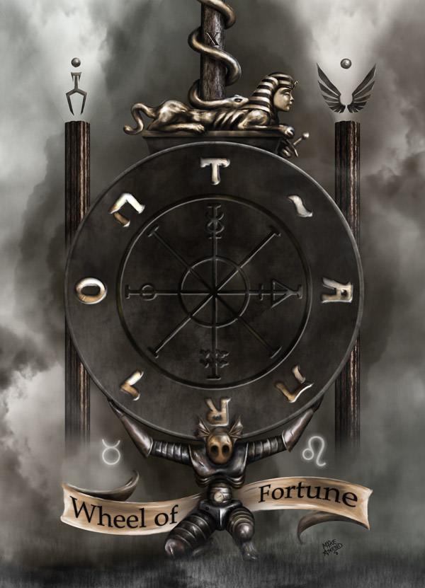 Wheel of Fortune by Mykeamend