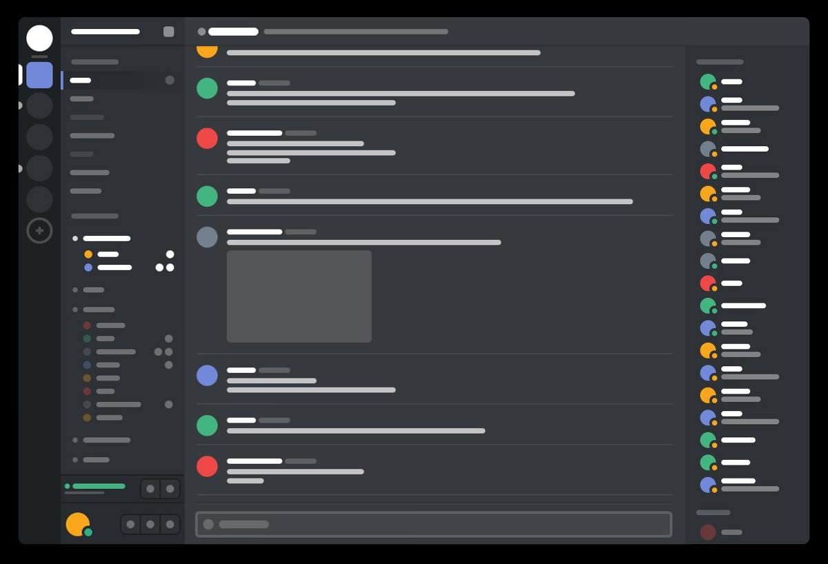 Discord's Slack-like interface