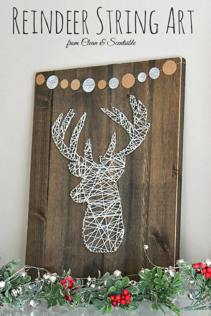 How To Create A Deer Head String Art