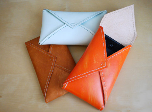Leather Envelop Case