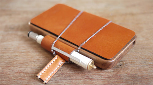 Leather Penholder Case