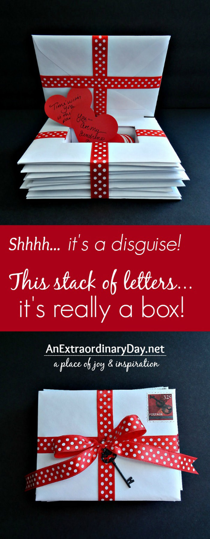 Box Disguised as Letters