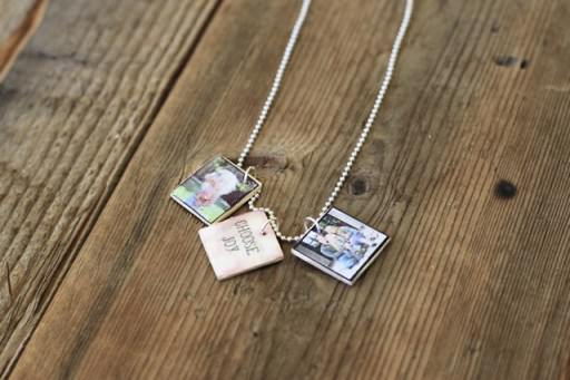 Miniature Photo Pendants