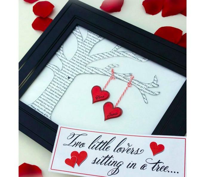 30 handmade diy valentines day gift tutorials hongkiat two little lovers sitting on a tree solutioingenieria Gallery