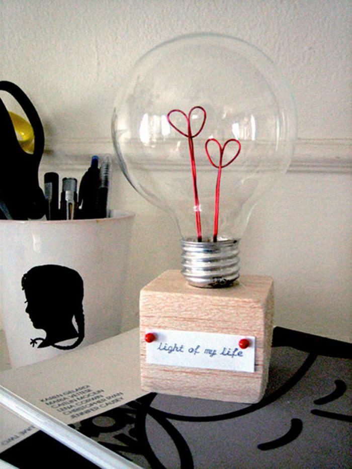Valentine Lightbulb