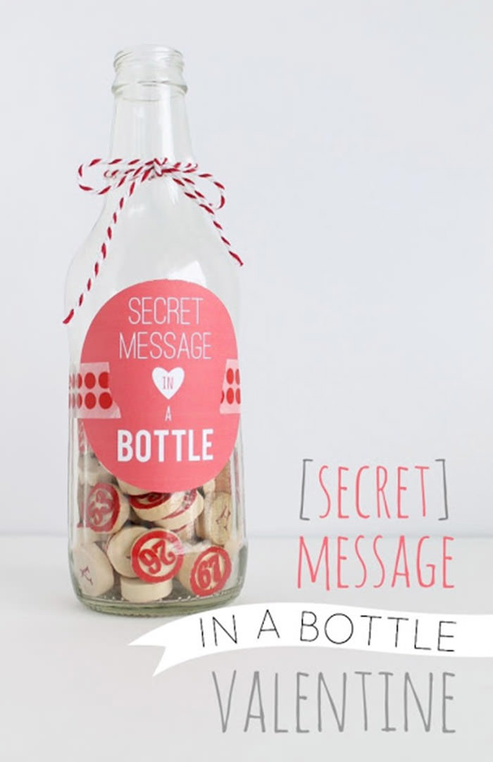 Secret Message in a Bottle