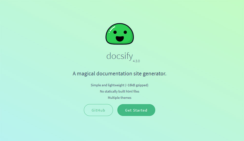 Generate Documentation with Markdown Files Using Docsify
