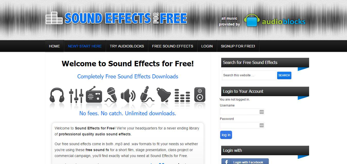 Sound Effects for Free