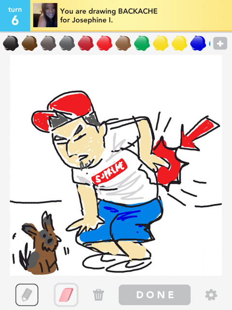 Draw Something: Doodles That Go to Extremes [PICS] - Hongkiat |Hangover Draw Something Drawing