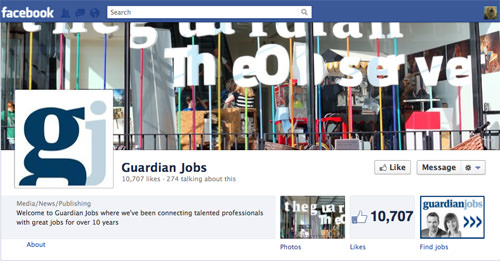 guardian job posts