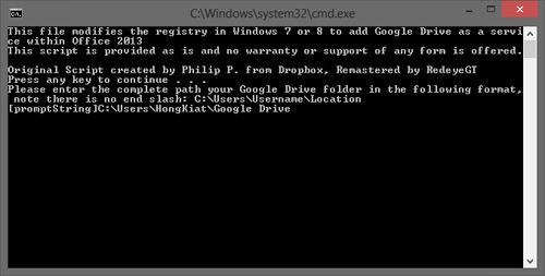 Google Drive Step 2
