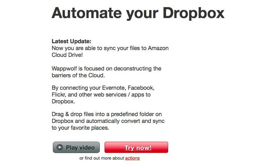 automate your dropbox