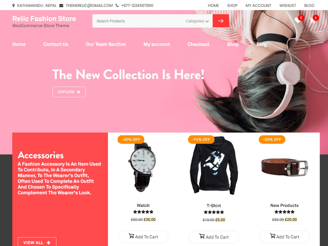 relic-fashion-store-wordpress-theme