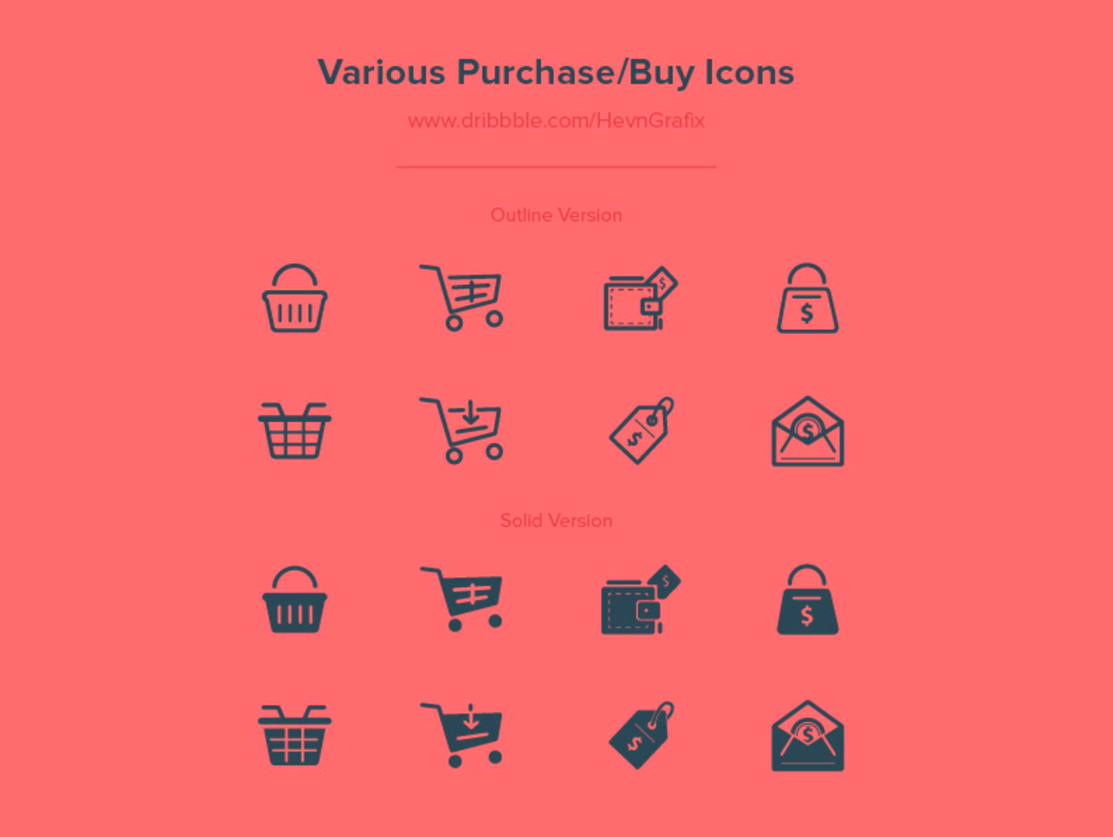 various-buy-purchase-icons