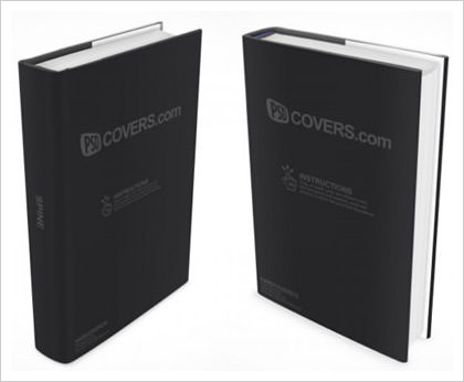 Hardcover Ebook Cover Photoshop Actions