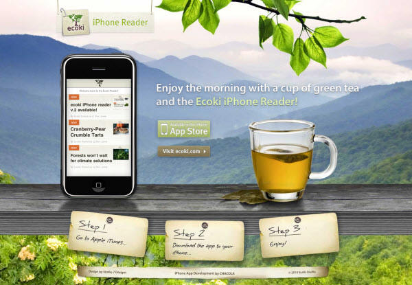 ecoki iphone app