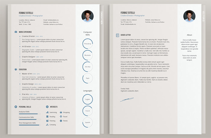 image wassim awadallah - Beautiful Resume Templates