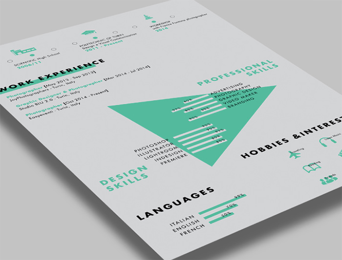 30 free beautiful resume templates to download hongkiat - Free Beautiful Resume Templates