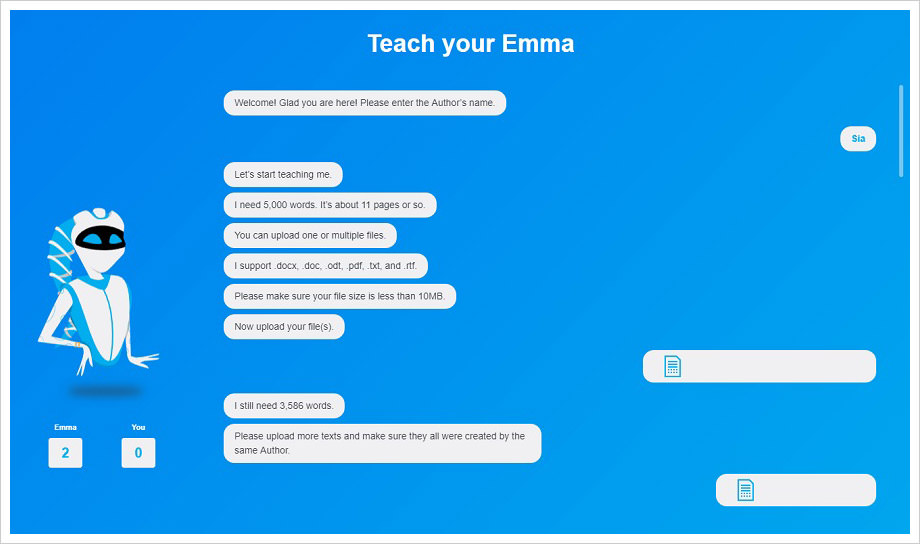 Meet EMMA – The A.I. Enabled Plagiarism Detector
