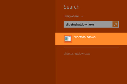 Use Windows 8 Search