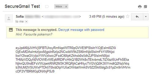 decrypt message